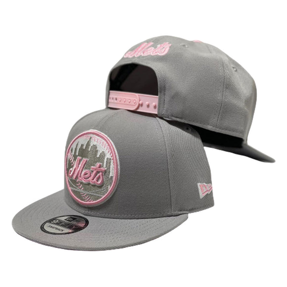 New York Mets Snapback to Match Jordan 7 Natural Gray