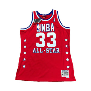 PATRICK EWING 1989 NBA ALL STAR EAST MITCHELL AND NESS SWINGMAN RED JERSEY