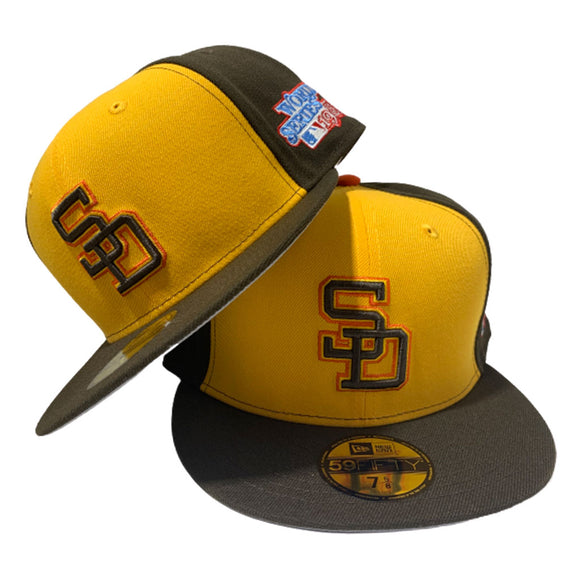 SAN DIEGO PADRES 1984 WORLD SERIES NEW ERA FITTED HAT