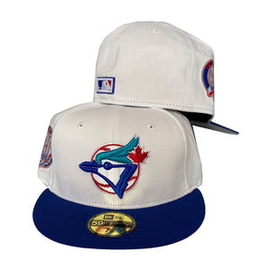 Toronto Blue Jays 30th season White New Era Fitted