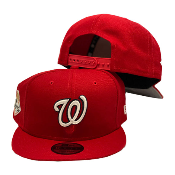 Washington Nationals 2019 World Series New Era 9Fifty Snapback Hat