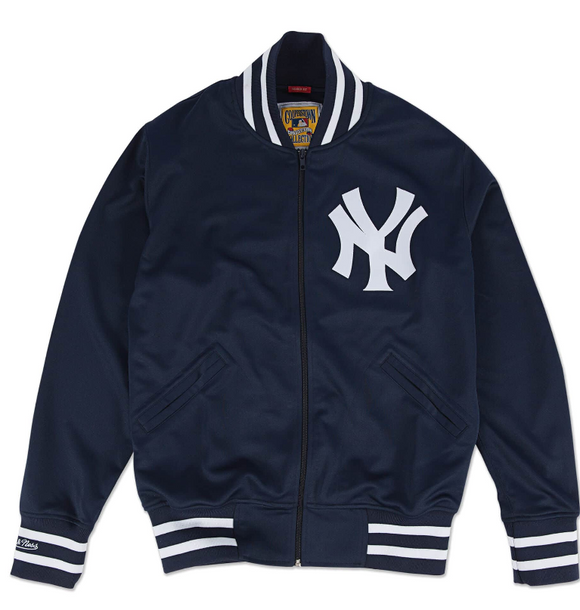 Authentic Mitchell and Ness BP Jacket New York Yankees 1988