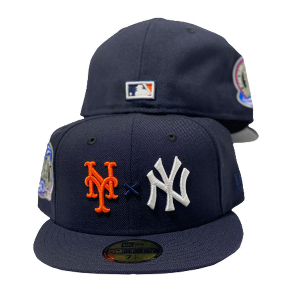 Yankees * Mets Navy New Era Fitted