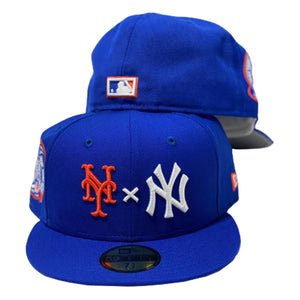 Yankees * Mets Royal New Era Fitted