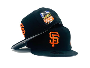 SAN FRANCISCO GIANTS 2007 ALL STAR GAME GRAY BRIM NEW ERA FITTED HAT