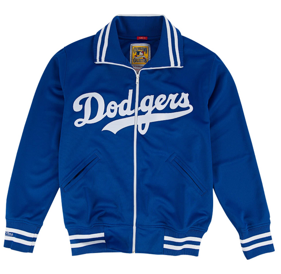 Authentic Mitchell and Ness BP Jacket Los Angeles Dodgers 1981