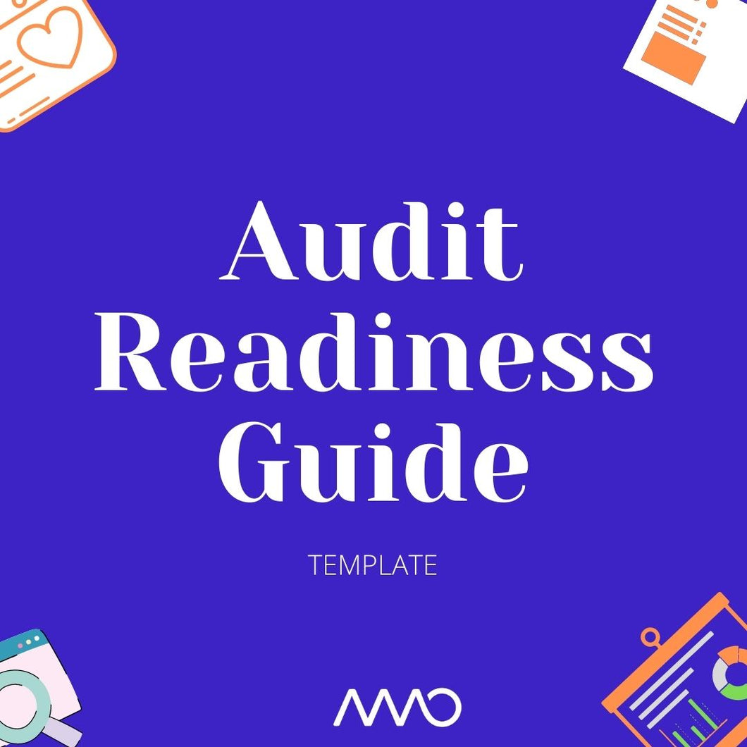 Audit readiness guide (Inc. checklist)