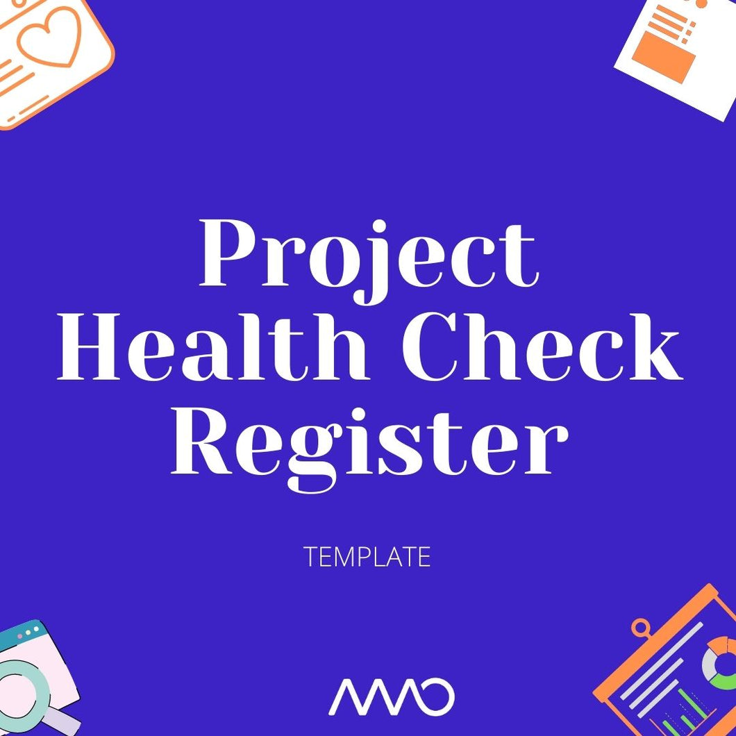 Project Health Check Register