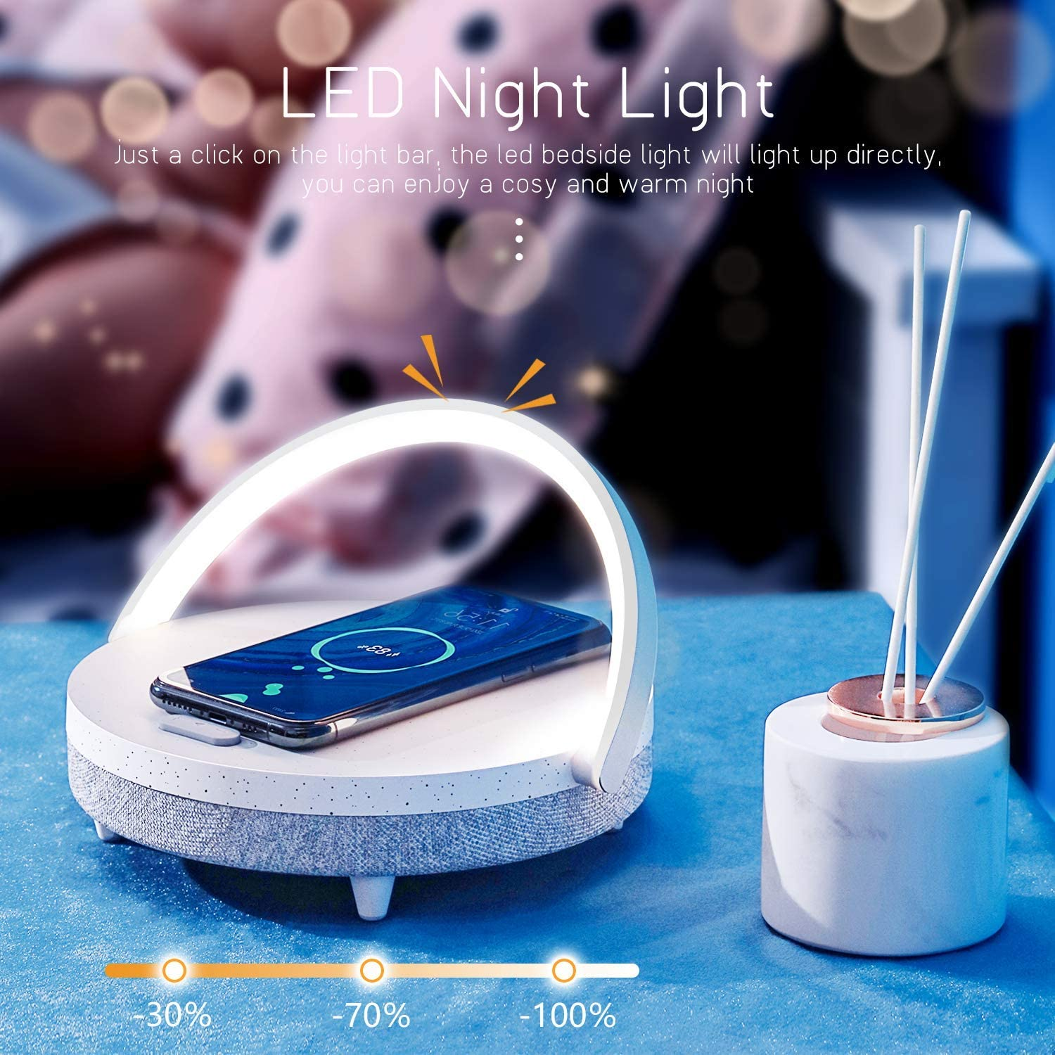 Smart Music LED Night Light
