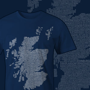 Design Spotlight - Placenames of Scotland