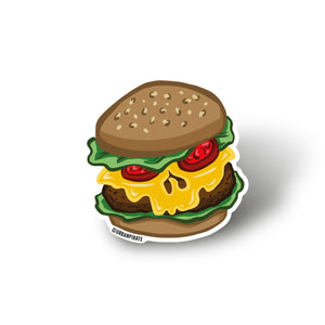 Fast Food Sticker Set