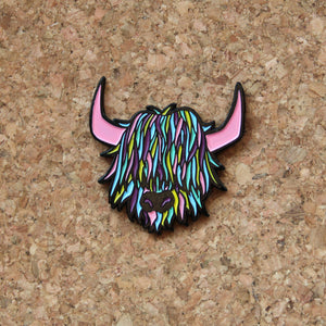 Colour Highland Cow - Urban Pirate