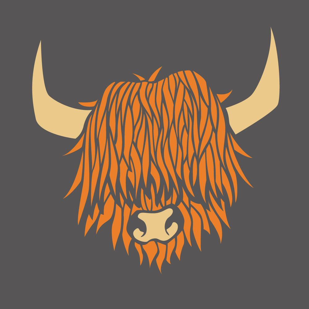 Ginger Highland Cow