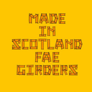 Made fae Girders - Yellow - Urban Pirate