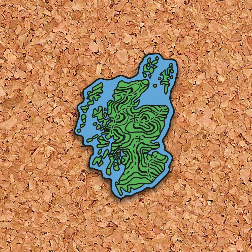 Scottish Hike Map