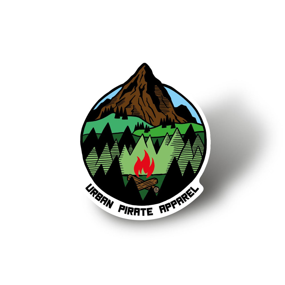 Hiking Sticker Set