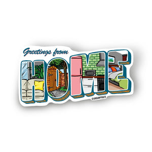 Home Holiday Magnet Set