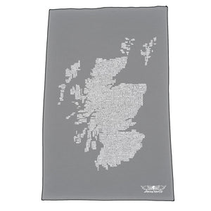 Scotland Map Names - Slate