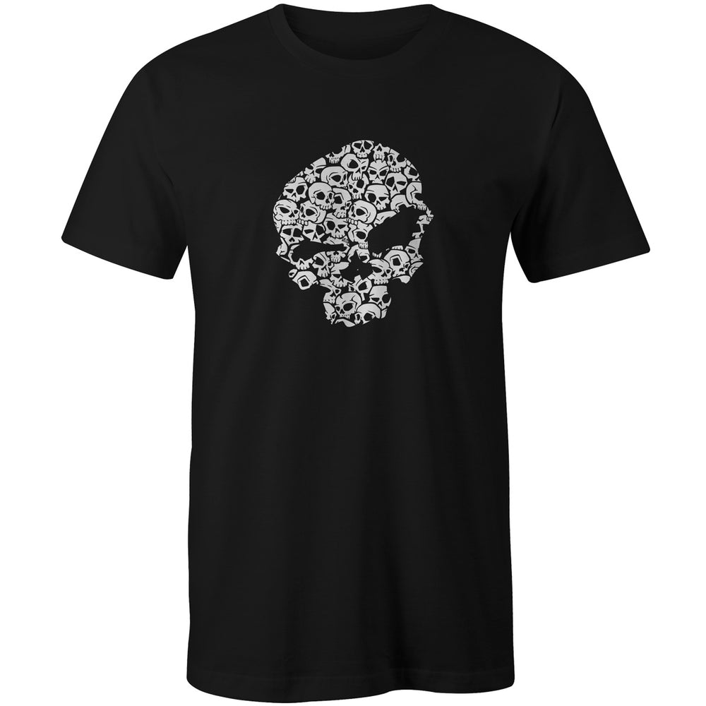 skull-pile-tshirt urban pirate logo scottish tshirt