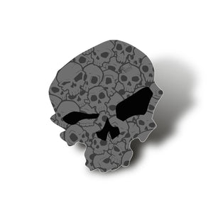 Skull Pile - Tea Towel