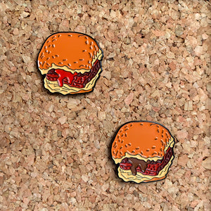 Square Sausage Pin