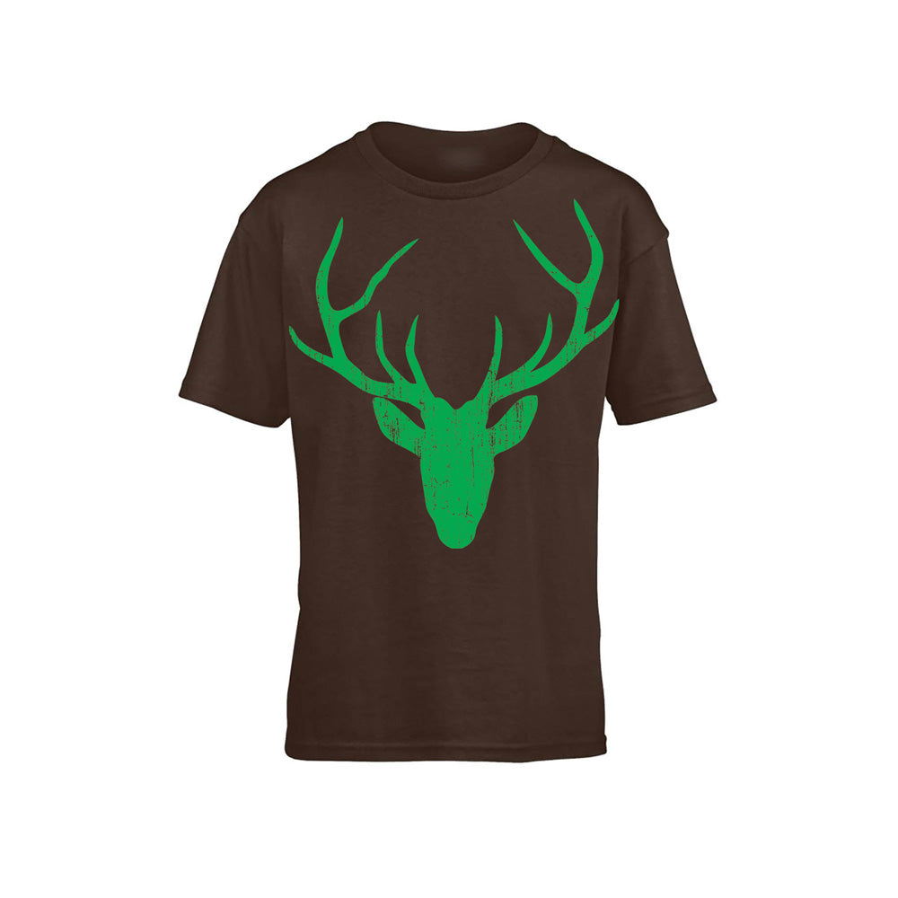 Stag Head - Brown