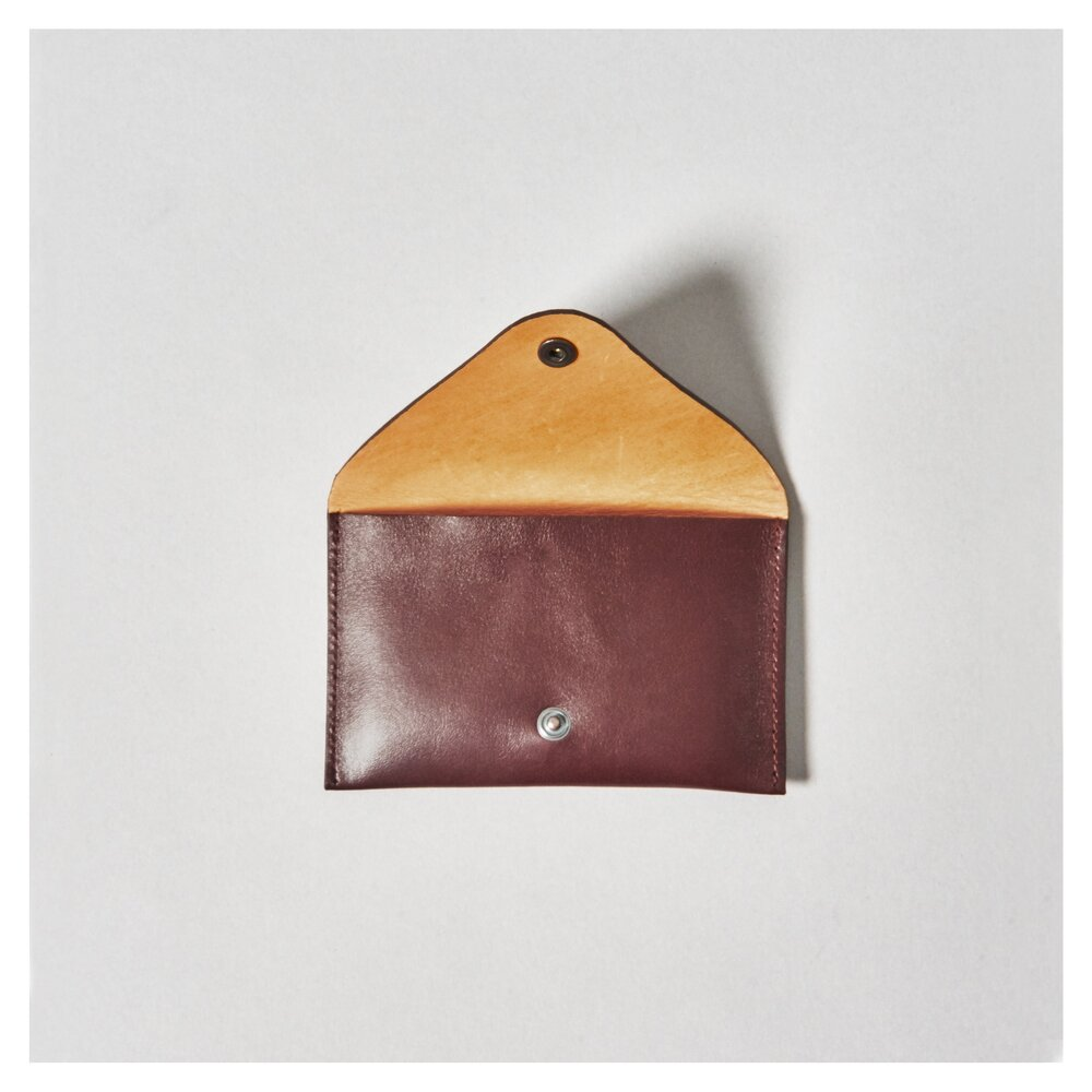 SMALL MONEY & CARD PURSE - brown