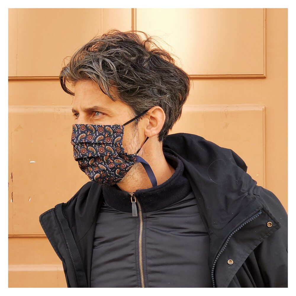PARSLEY FACE MASK WITH NECK CORD FOR MEN