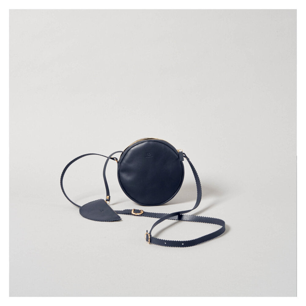 CIRCLE 'DIRNDL' BAG navy blue
