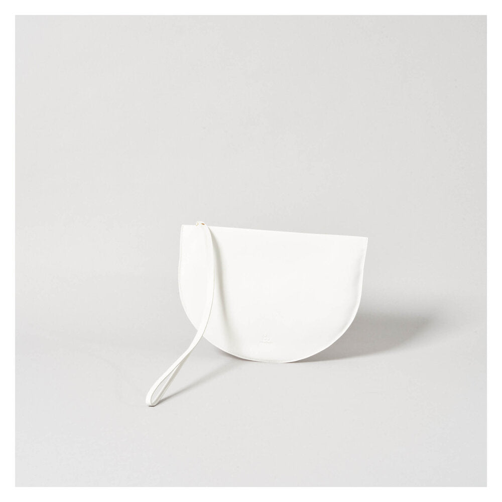 NEW MOON CLUTCH white