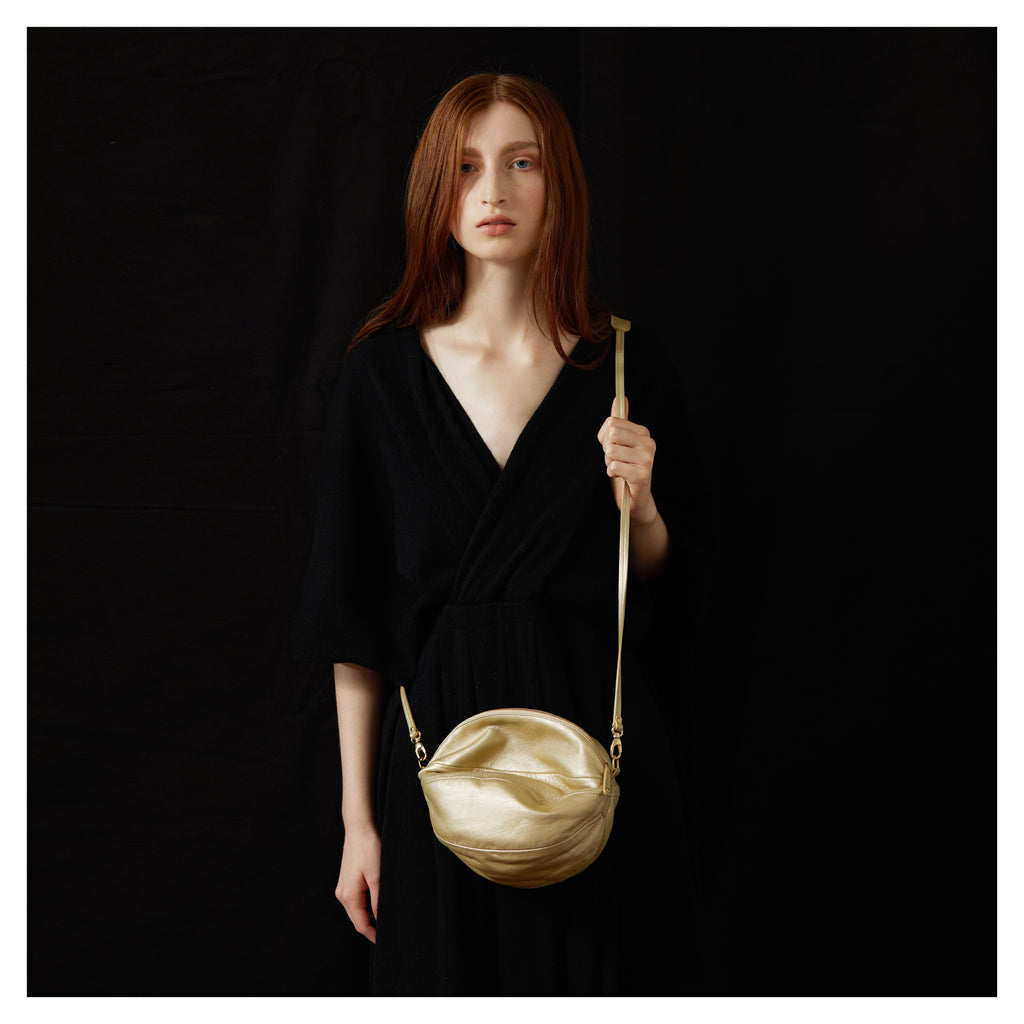 BALLOON BAG gold