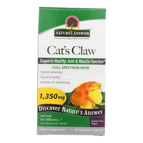 Nature's Answer - Cat's Claw Inner Bark Extract - 90 Vegetarian Capsules