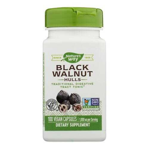 Nature's Way - Black Walnut Hulls - 100 Capsules