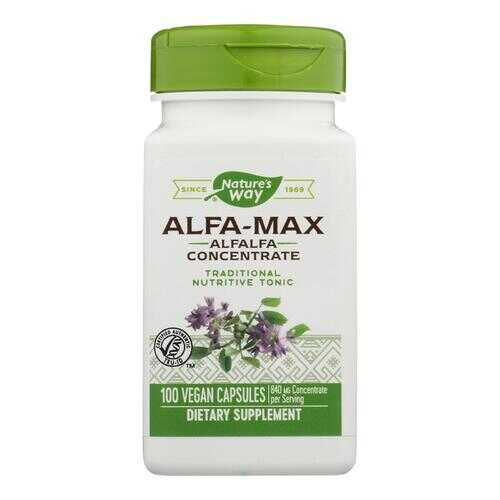 Nature's Way - Alfa-Max Concentrate - 100 Capsules