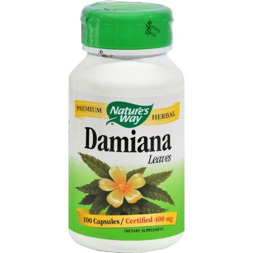 Nature's Way - Damiana Leaves - 100 Capsules
