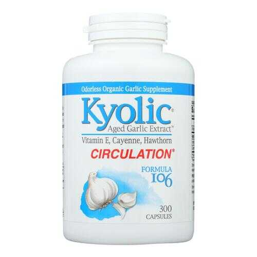Kyolic - Aged Garlic Extract Circulation Formula 106 - 300 Capsules