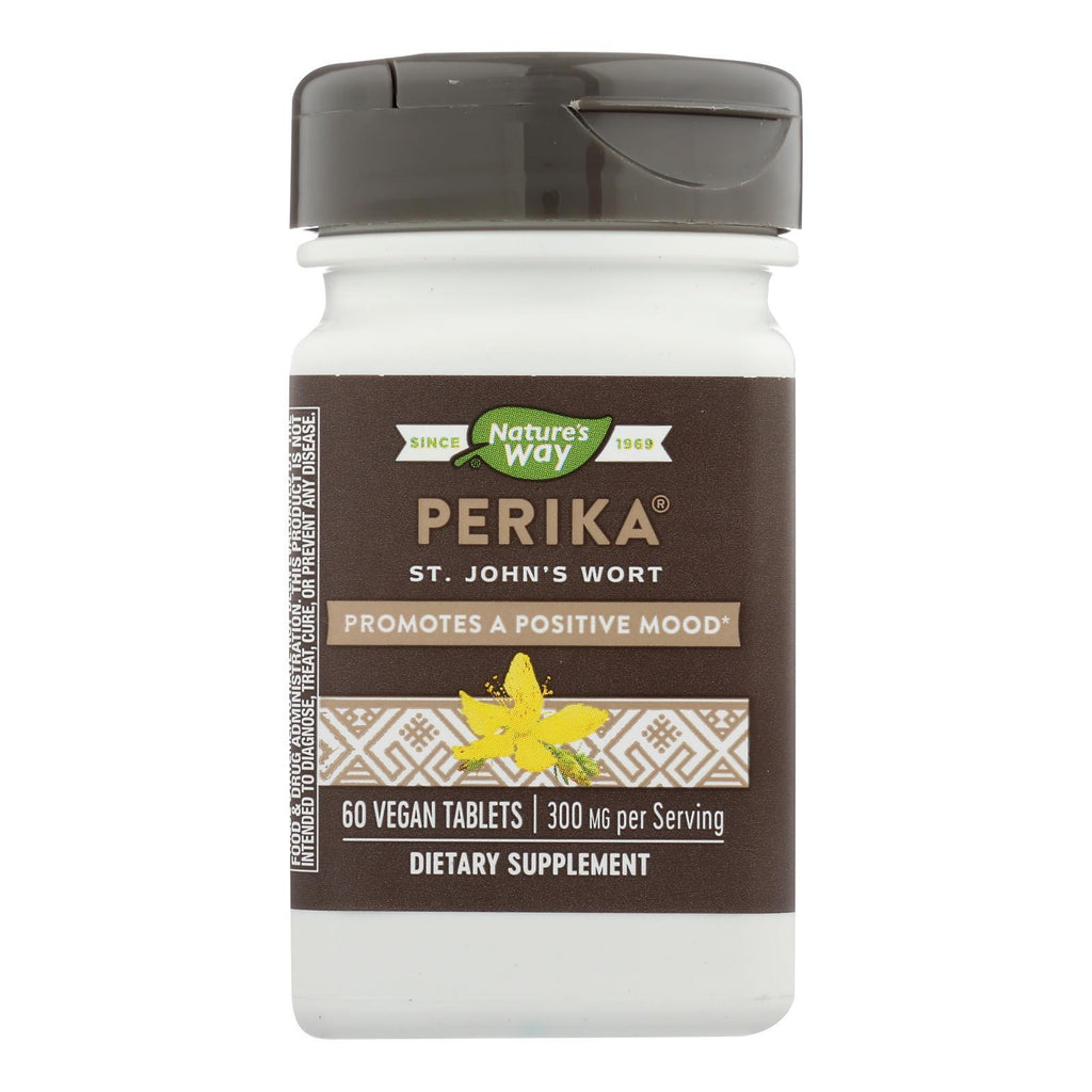Nature's Way - Perika St John's Wort - 60 Tablets