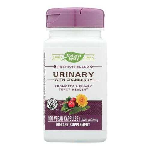 Nature's Way - Urinary with Cranberry - 450 mg - 100 Capsules