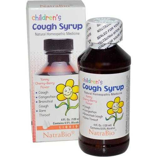 Natra-Bio Child Cough Syrup (1x4 Oz)