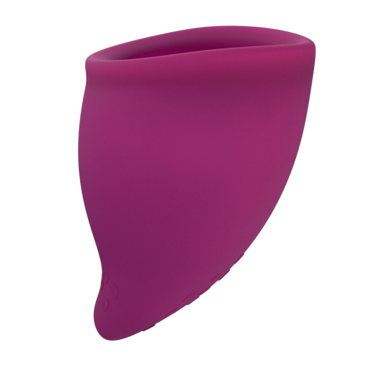 Silicone menstrual cup size B