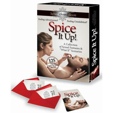Spice it up couples bedroom game