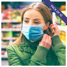Load image into Gallery viewer, Standard Face Mask - Pack of 10