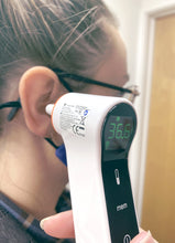 Load image into Gallery viewer, Infrared Forehead & Ear Thermometer