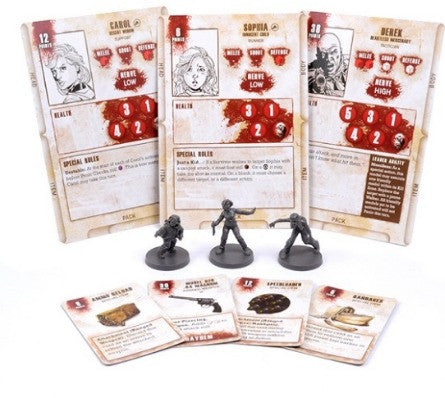 THE WALKING DEAD: All Out War Miniatures Game - Carol Booster