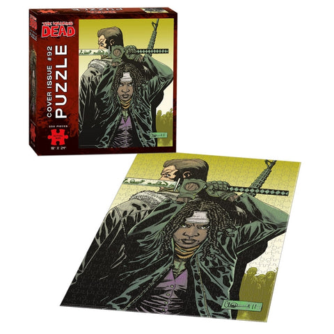 THE WALKING DEAD 550 Piece Puzzle - Issue #92 Cover Art