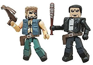 THE WALKING DEAD Minimates Series 7 - Negan and Dwight