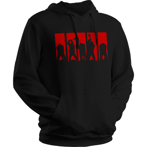"The Walking Dead  ""Here's Negan 5 Panel Print"" - Hoodie"