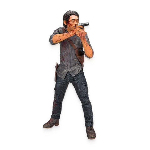 "AMC's THE WALKING DEAD Glenn 10"" Bloody Deluxe Action Figures"