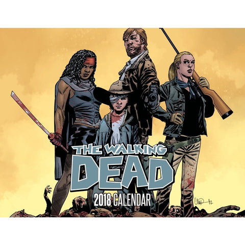 THE WALKING DEAD - 2018 Calendar