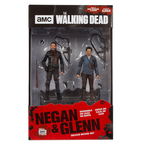 AMC's THE WALKING DEAD Negan and Glenn Deluxe Box Set Action Figures